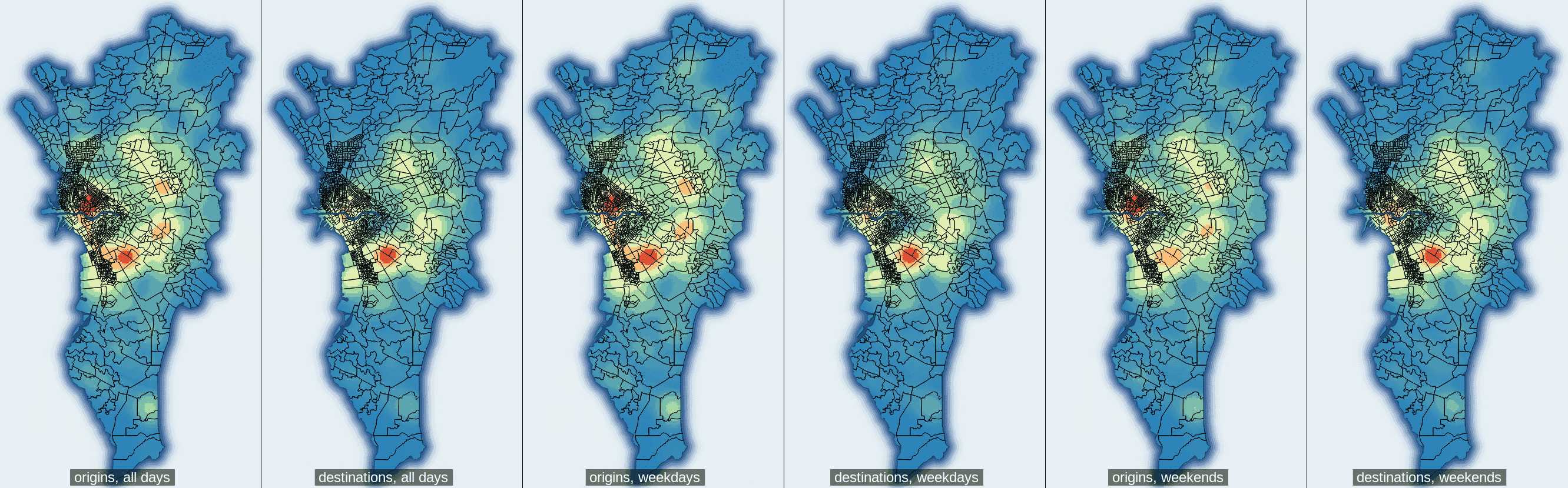 Heatmap, side-by-side