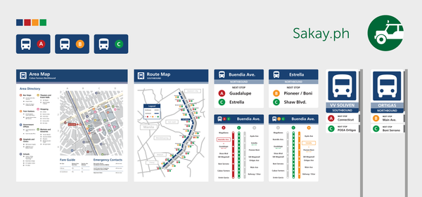 A Redesign of Bus Stops and Signage in Metro Manila
