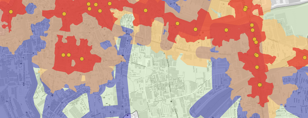 Transit Area Coverage in Pasig During the Transport Strike